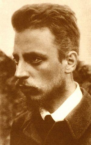 Rainer Maria Rilke, c. 1900