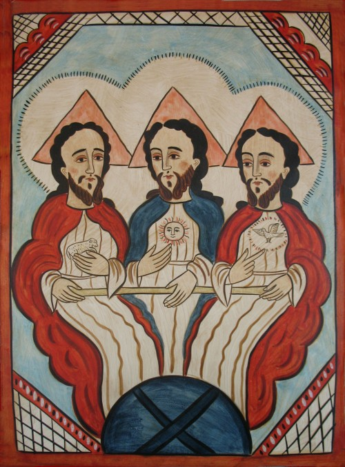 Retablo of the Trinity, by Alcario Otero