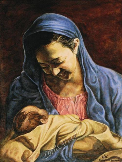 Madonna and Child by Jason Jenicke